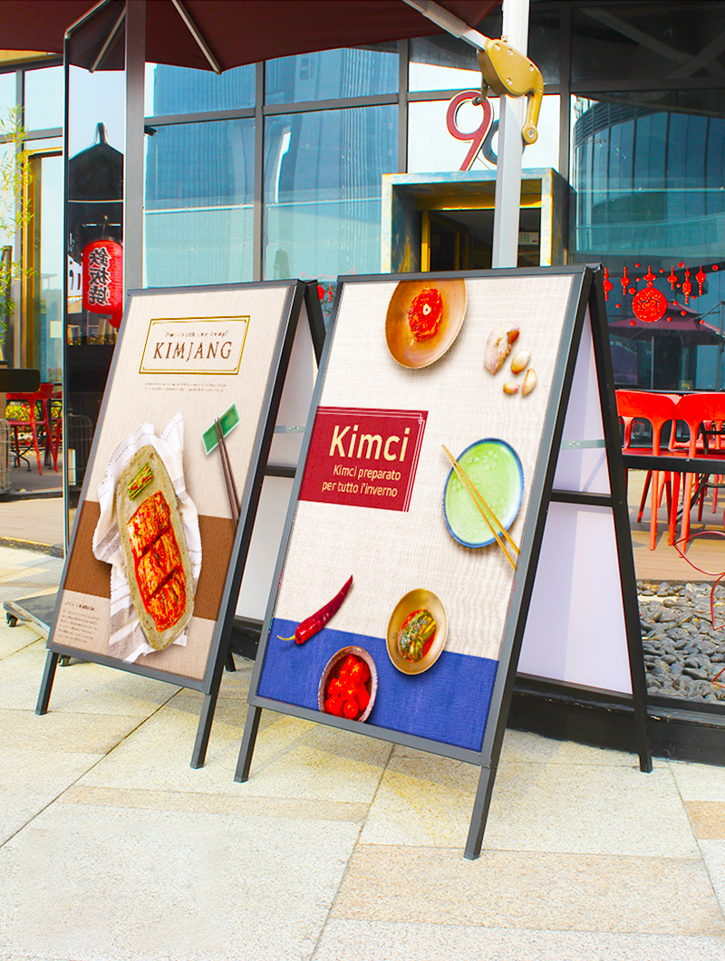 A1 Sandwich Sign Boards for Outdoors