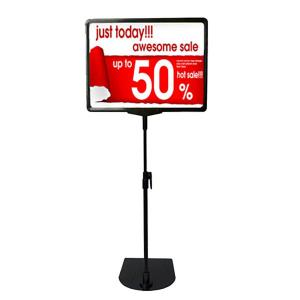 Retail Table Poster Stands
