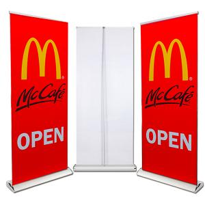 Retractable Banner Stand Up Signs