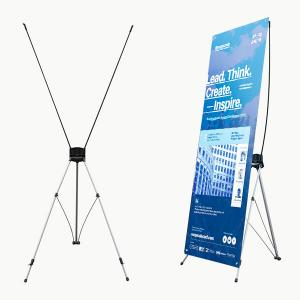 X Frame Display Banner Stand